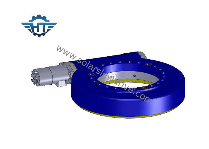 SE9 Enclosed Housing Slew Drive Gearbox For Dual Axis Solar And Single Axis Solar Tracking System